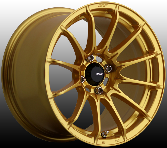 Konig Dial In FWD Gloss Gold